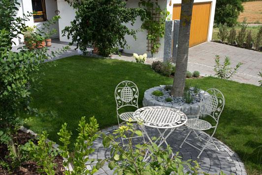 Galabau balija murr for Gartenplatz gestaltung
